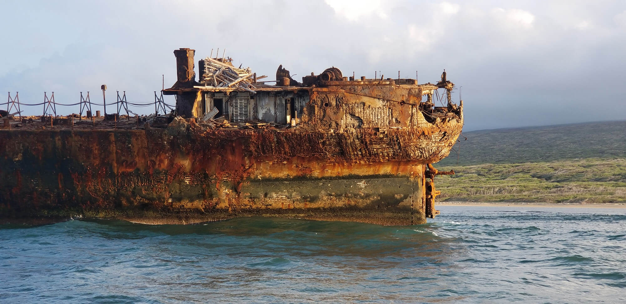 Shipwreck Side